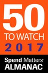"Spend Matters Names Agiloft Among 2017 ""50 Providers to Watch"" for Procurement Software"
