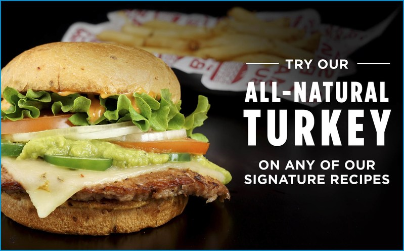 Smashburger's latest menu innovation is also its newest way to burger. For the first time in the company's history, Smashburger will include turkey burgers alongside its existing menu line of iconic burger options.