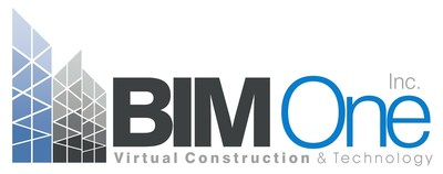 Logo: Virtual Construction and Technologies BIM One Inc. (CNW Group/Construction virtual et technologie Bim one)