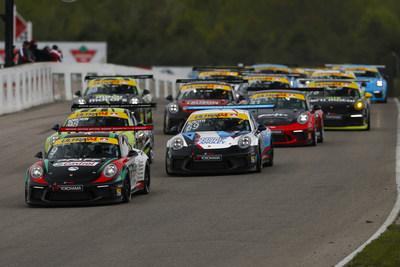 Après plus de huit mois d'attente, les amateurs de course ont accueilli avec enthousiasme l'Ultra 94 GT3 Cup Challenge Canada présentée par Yokohama alors que la série a entamé les deux premières courses au Canadian Tire Motorsport Park (CTMP) à Bowmanville, ON. (Groupe CNW/Automobiles Porsche Canada)