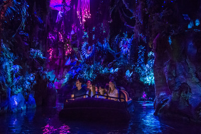 One of several major openings in Orlando this summer, Pandora-The World of Avatar at Disney's Animal Kingdom will bring a variety of new experiences to the park, including a family-friendly attraction called Na'vi River Journey, pictured here.