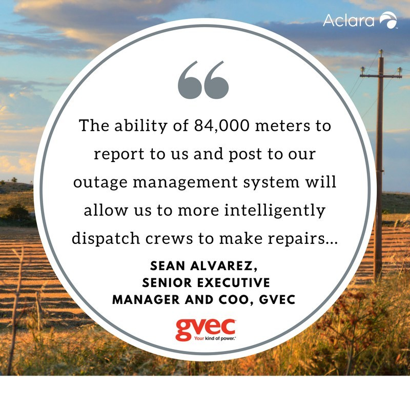 Guadalupe Valley Electric Cooperative (GVEC) has awarded Aclara, a leader in smart infrastructure solutions to electric, water and gas utilities, an advanced metering infrastructure (AMI) project that will employ Aclara's state-of-the-art Synergize® RF-based metering network system.