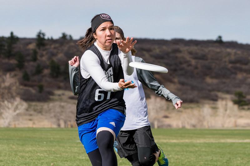 U.S. National Team and San Francisco Fury player, Carolyn Finney