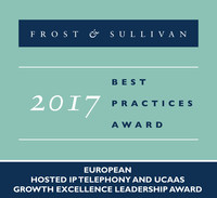 NFON Receives the 2017 European Hosted IP Telephony and UCaaS Growth Excellence Leadership Award