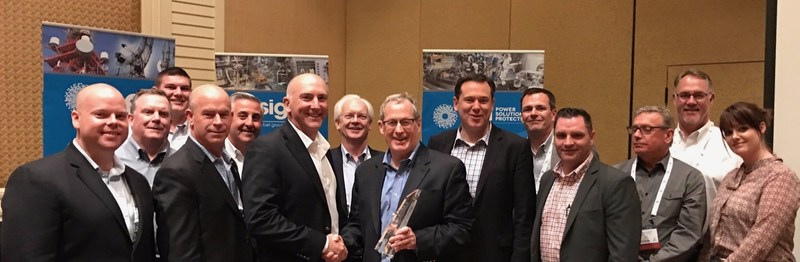 Bel Fuse Inc. Presents Digi-Key with Distributor of the Year Award