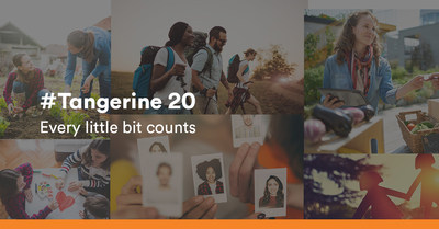Tangerine Celebrates 20 Year Anniversary by Giving Back to Communities across Canada (CNW Group/Tangerine)
