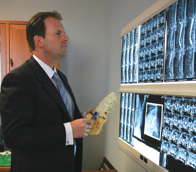 James Lynch, MD, fellowship-trained spine surgeon and founder of SpineNevada in Reno, Nevada.
