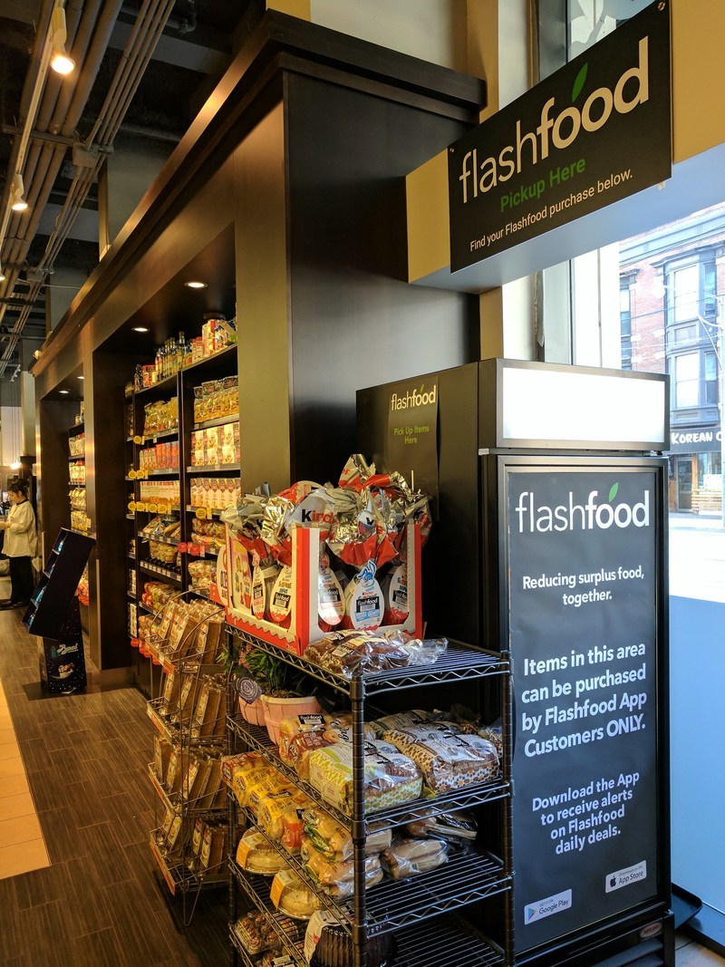 Flashfood Longos Zone (CNW Group/Flashfood)