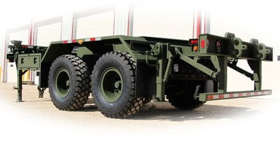Load Handling System Trailer built for the Department of National Defense of Canada by Arne's Welding Ltd. in Winnipeg, MB. (CNW Group/Arne's Welding Ltd.)