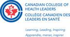 Logo : Collège canadien des leaders en santé (Groupe CNW/Collège canadien des leaders en santé)