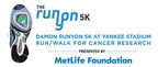 Damon Runyon Cancer Research Foundation to Hold 9th Annual Runyon 5K at Yankee Stadium on Saturday, July 15