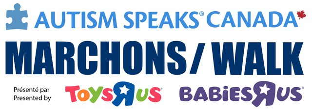 Join us as we Walk for Autism Speaks Canada. (CNW Group/Autism Speaks Canada)