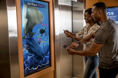 Carnival Corporation's Ocean Tagalong is a customizable digital companion that will interact with guests on Ocean Medallion vacations and represent them in interactive games. The Tagalong will make its global debut aboard Princess Cruises' Regal Princess in November.