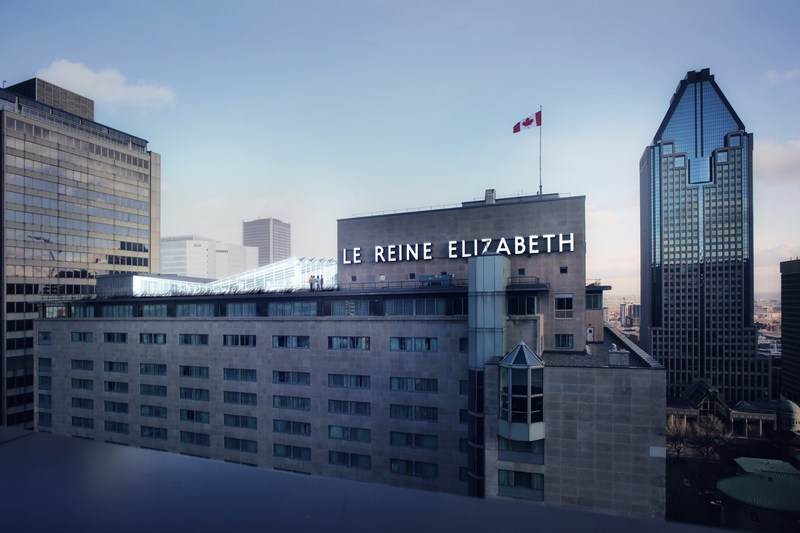 Espace C2 will occupy one wing of the highest floor and the rooftop terrace of Fairmont The Queen Elizabeth. (CNW Group/Fairmont The Queen Elizabeth)