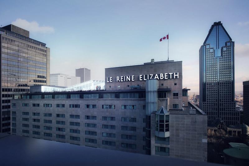 L'Espace C2 occupera une aile du dernier étage et la terrasse sur le toit de l'hôtel Fairmont Le Reine Elizabeth. (Groupe CNW/Fairmont Le Reine Elizabeth)