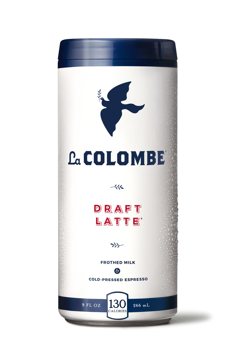 La Colombe's Draft Latte delivers the frothy latte texture you'd expect to find in a cafe, in the refreshing convenience of a chilled can.