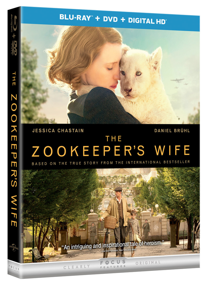 From Universal Pictures Home Entertainment: The Zookeeper's Wife