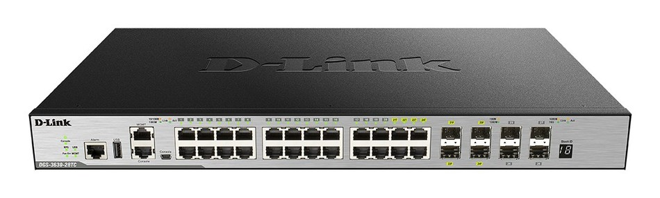 D-Link DGS-3630-28TC Layer 3 Stackable Managed Gigabit Switch