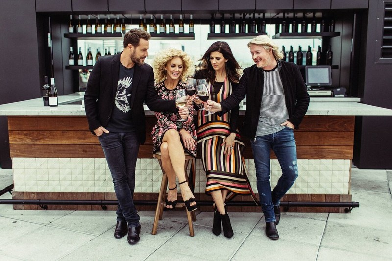 For Grammy Award-winning group Little Big Town and its four members – Karen Fairchild, Phillip Sweet, Kimberly Schlapman and Jimi Westbrook – wine has always been a part of their story. Whether it is in the studio or on the road, shared with family or friends, their story unfolds much like that of a great wine. Visit www.fourcellars.com. (PRNewsfoto/4 Cellars)