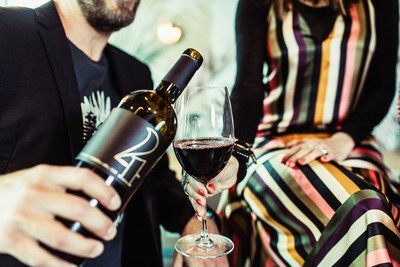 4 Cellars, the new wine created by Little Big Town and Browne Family Vineyards is available exclusively online to wine club members and at select Tennessee restaurants. Debuting in June are 4 Cellars 2016 Chardonnay and 4 Cellars 2015 Red Blend both of which come from Washington state's famed Columbia Valley. (PRNewsfoto/4 Cellars)