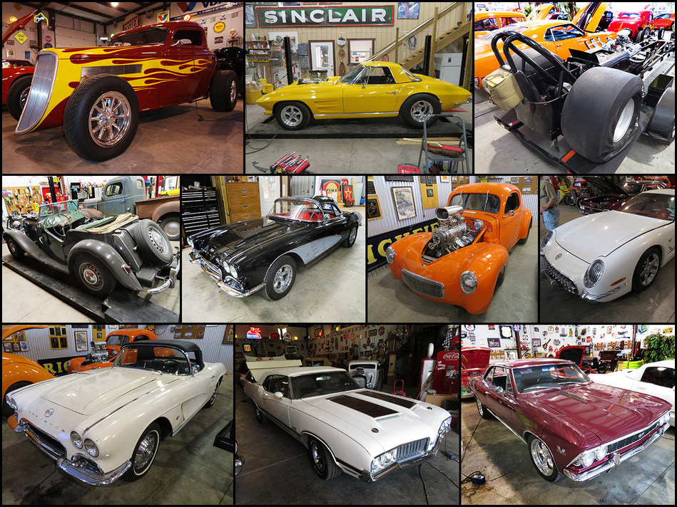 Cars from the Gene Plunk Collection.