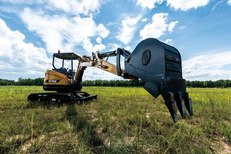 SANY mini excavator promotions -- a hit in Australia and New Zealand