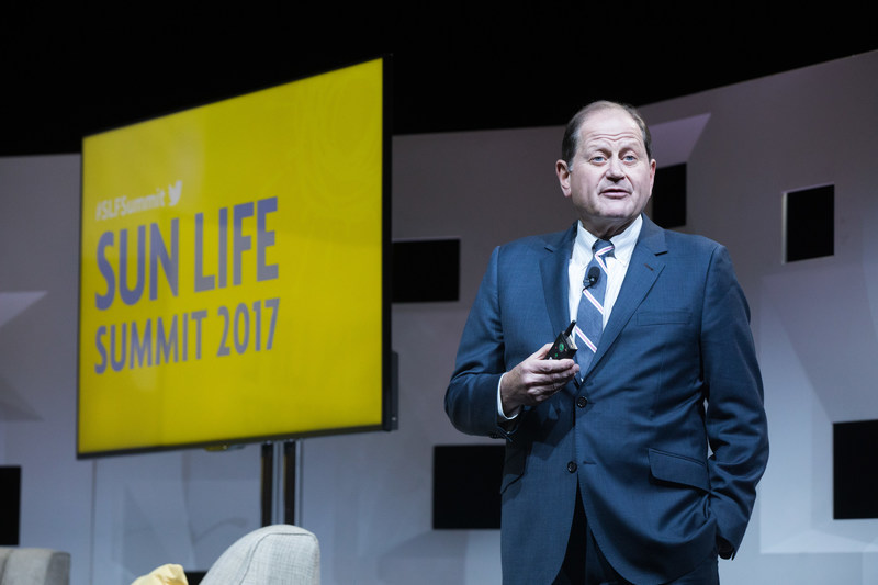 James Klein, president, The American Benefits Council, presents at the 5th annual Sun Life Summit.