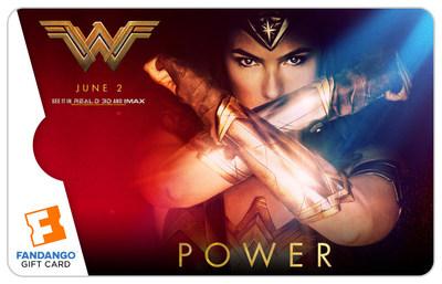 "Fandango ""Wonder Woman"" Gift Cards"