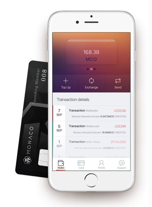 Monaco VISA, Cryptocurrency Card, Raises $3M in 3 Days, Announces Instant Cashback