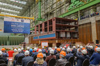 Crystal River Cruises' Expansion Of 'Rhine Class' Continues With Keel Laying Of Crystal Debussy And Crystal Ravel At Germany's MV WERFTEN Shipyard