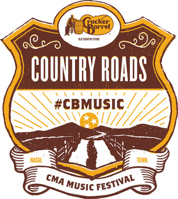 Cracker Barrel Old Country Store' to Power the Country Roads Stage at the CMA Music Festival Through 2019