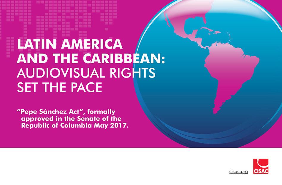 Latin America news – Audiovisual rights set the pace (PRNewsfoto/CISAC)
