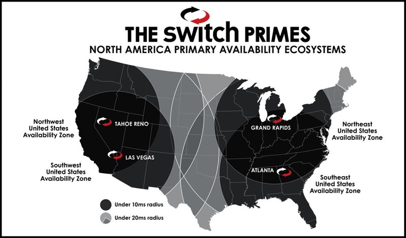Switch Announces Massive PRIME Data Center Campus in Atlanta