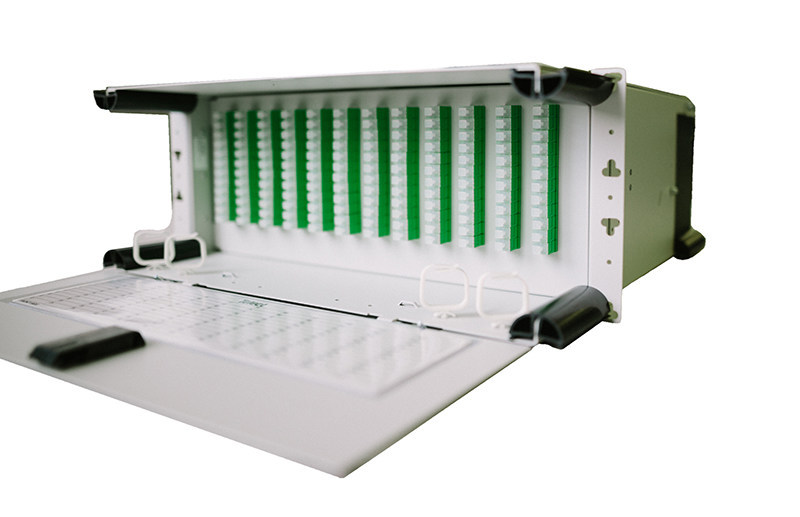 The LTX series of fiber distribution panels which can be mounted in any standard equipment rack. The series has a pre-terminated solution that is easy to install, allowing for rapid deployment in fiber optic network expansions and eliminating the time and cost dedicated to on-site fiber terminations.