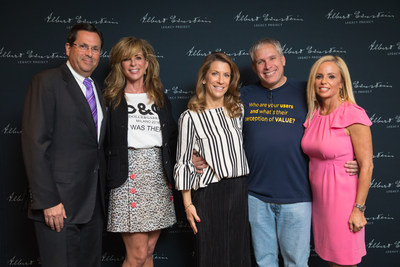 L to R are Gala Chairs: Randy Masters, Karen Simpson-Radomski, Perri Kirshenblatt; Special Guest Uri Levine, Entrepreneur and co-founder of Waze, and Gala Chair Sara Gottlieb. (CNW Group/Canadian Friends of the Hebrew University)