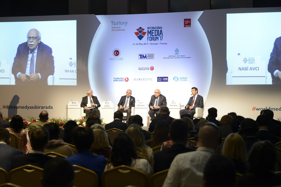 GLOBAL CONNECTION BROUGHT TOGETHER MORE THAN 150 MEDIA LEADERS FROM 50 COUNTRIES IN ANTALYA, AT THE INTERNATIONAL MEDIA FORUM, WHICH WILL BE AN ANNUAL EVENT (PRNewsfoto/Global Connection Media SA)