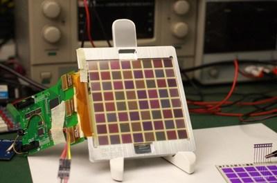 SCNU color e-paper panel