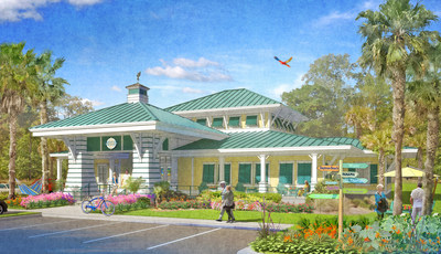 Latitude Margaritaville Sales Center Rendering