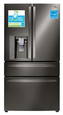 """Long-time ENERGY STAR® Partner LG Electronics USA is encouraging consumers to """"Flip Your Fridge"""" in a nationwide retail promotion that offers attractive discounts on ENERGY STAR certified LG refrigerators."""