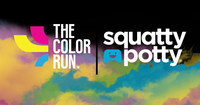 Squatty Potty teams up with The Color Run Dream Tour