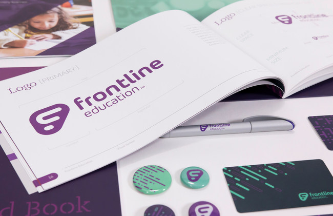 Frontline Education Branding