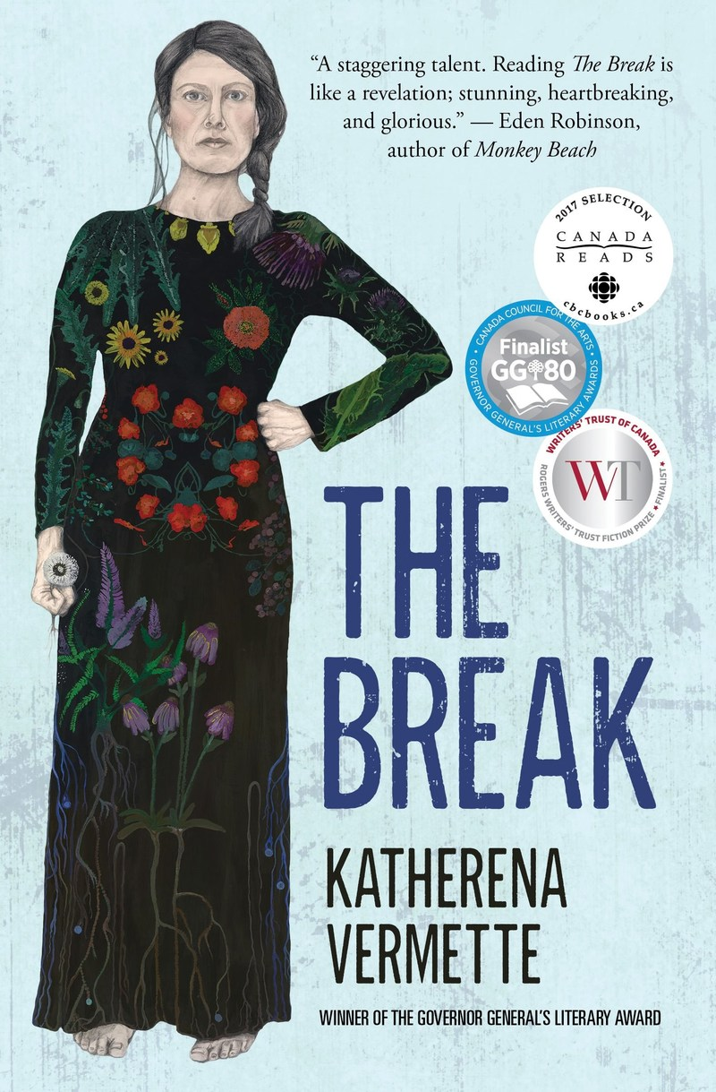 The Break by Katherena Vermette, the 2017 Winner of the Amazon.ca First Novel Award (CNW Group/Amazon.ca)