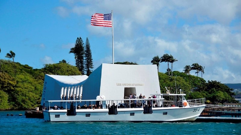 Wounded Warrior Project encourages veterans to visit many of the country's military landmarks, including the USS Arizona Memorial at Pearl Harbor.
