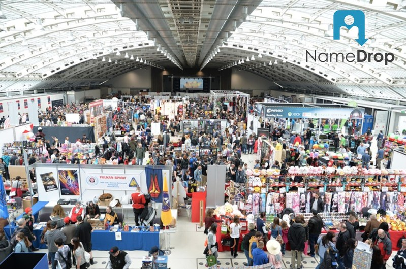 NameDrop, the best trade show app available.