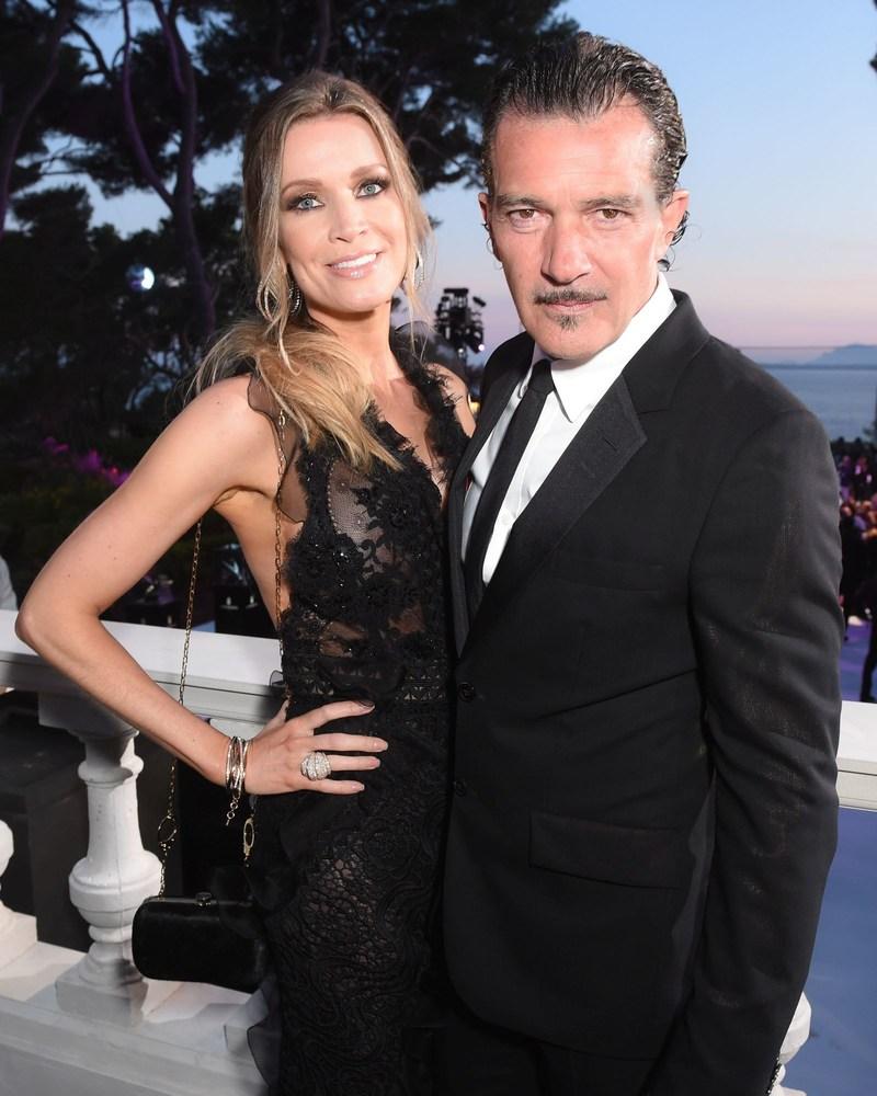 de GRISOGONO Cannes 2017 Nicole Kimpel & Antonio Banderas (PRNewsfoto/de GRISOGONO)