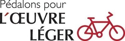 Logo : Pédalons pour L'ŒUVRE LÉGER (Groupe CNW/L'OEUVRE LEGER)