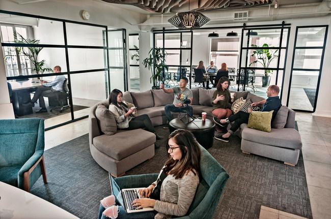 Lounge and Flexible Workspace at The Collection