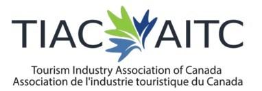 Logo : Association de l'industrie touristique du Canada (Groupe CNW/Association de l'industrie touristique du Canada)