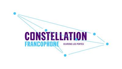 Logo : Constellation francophone - ouvrons les portes (Groupe CNW/Centre de la francophonie des Amériques)