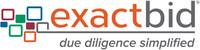 ExactBid Logo (PRNewsfoto/Newgen Software Inc.)